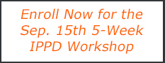 enroll now for the Sep 15 2020 IPPD workshop